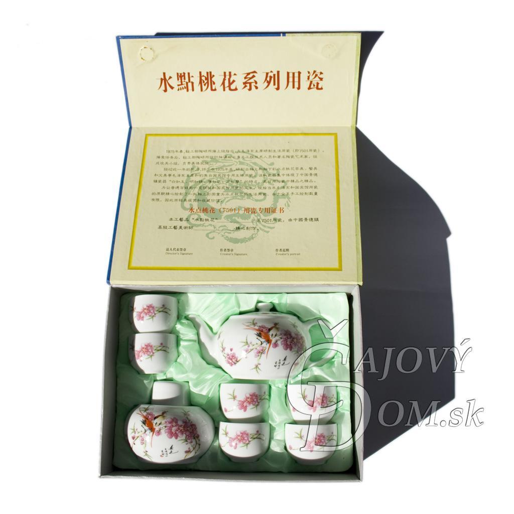 8 dielna súprava yixing - sakura