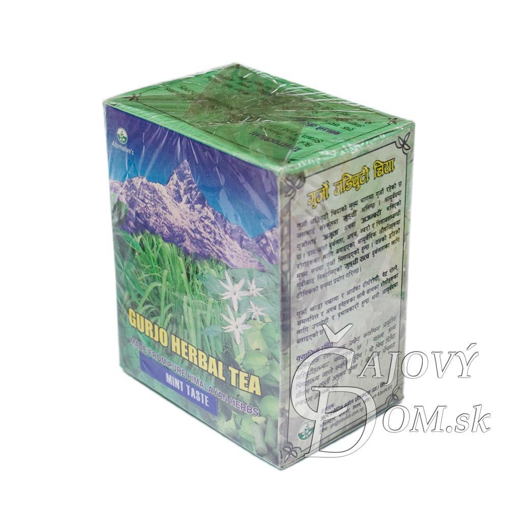 Gurjo Herbal Tea - s mätou