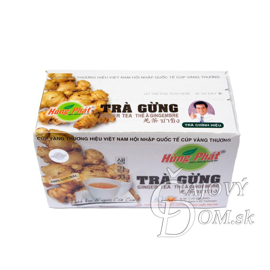 Trá Gung - Ginger Tea