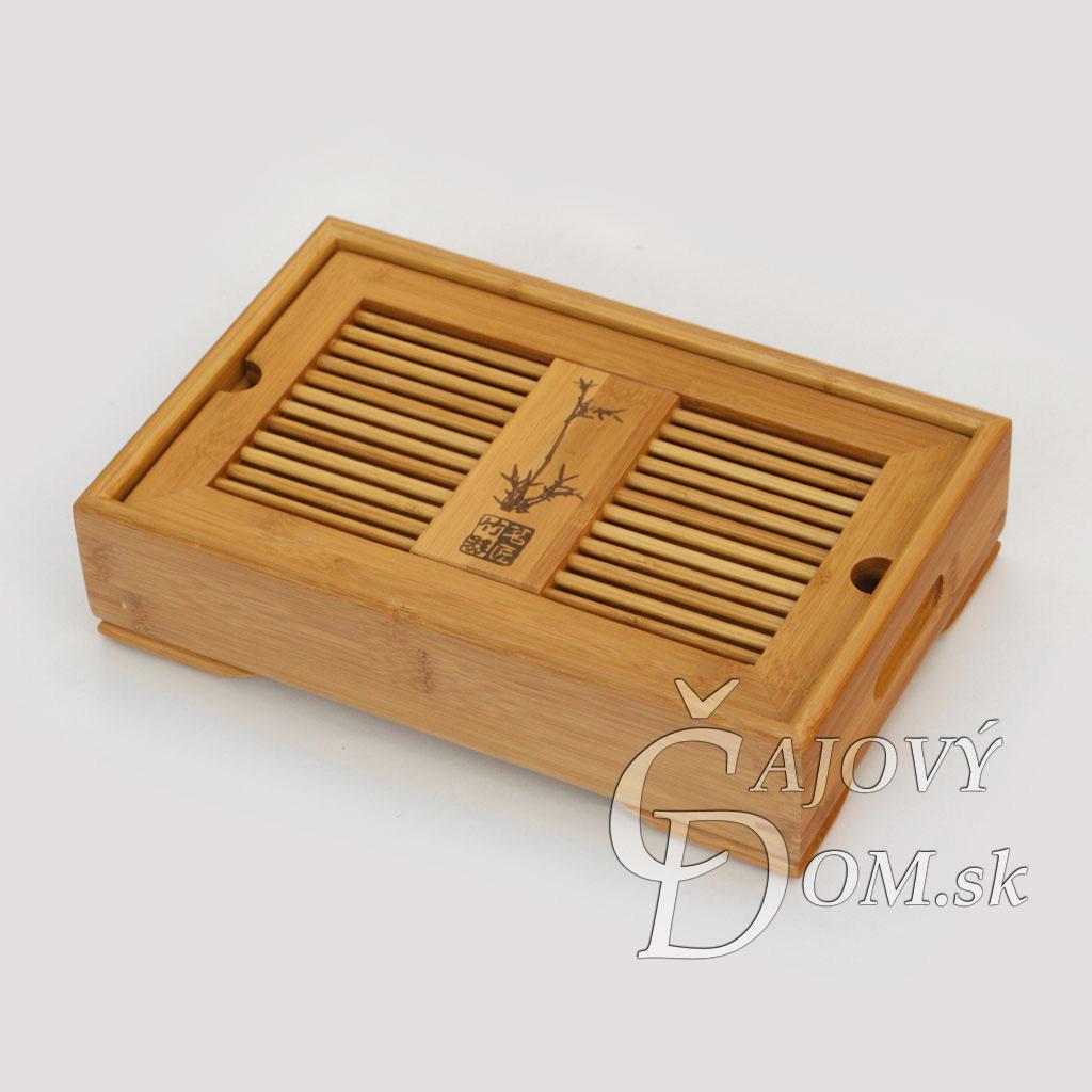 Čajové more bambusové guľaté malé