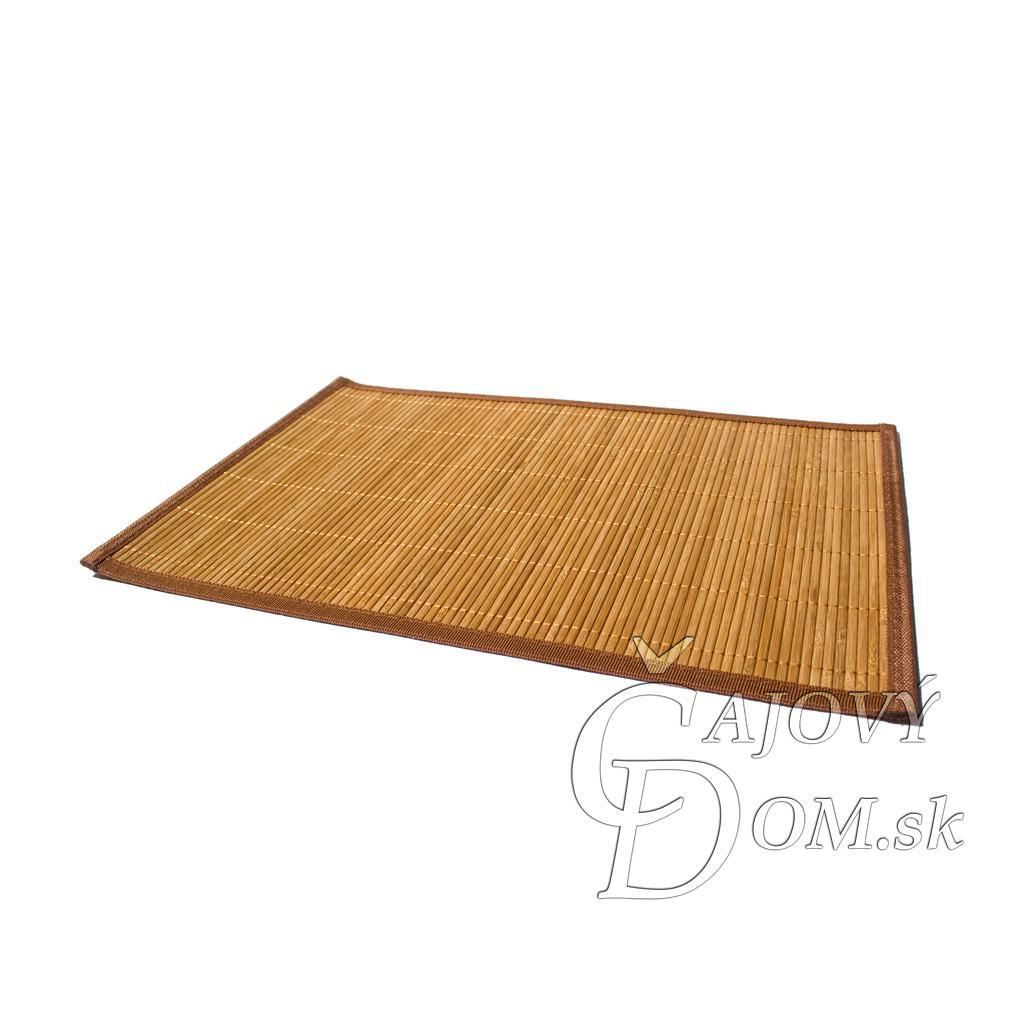 Bambusové prestieranie - hnedé