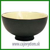 Keramická miska so sklenenou glazúrou - tmavá 11,5 cm