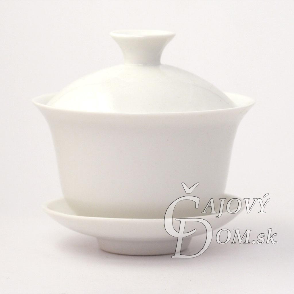 Zhong porcelánový biely malý
