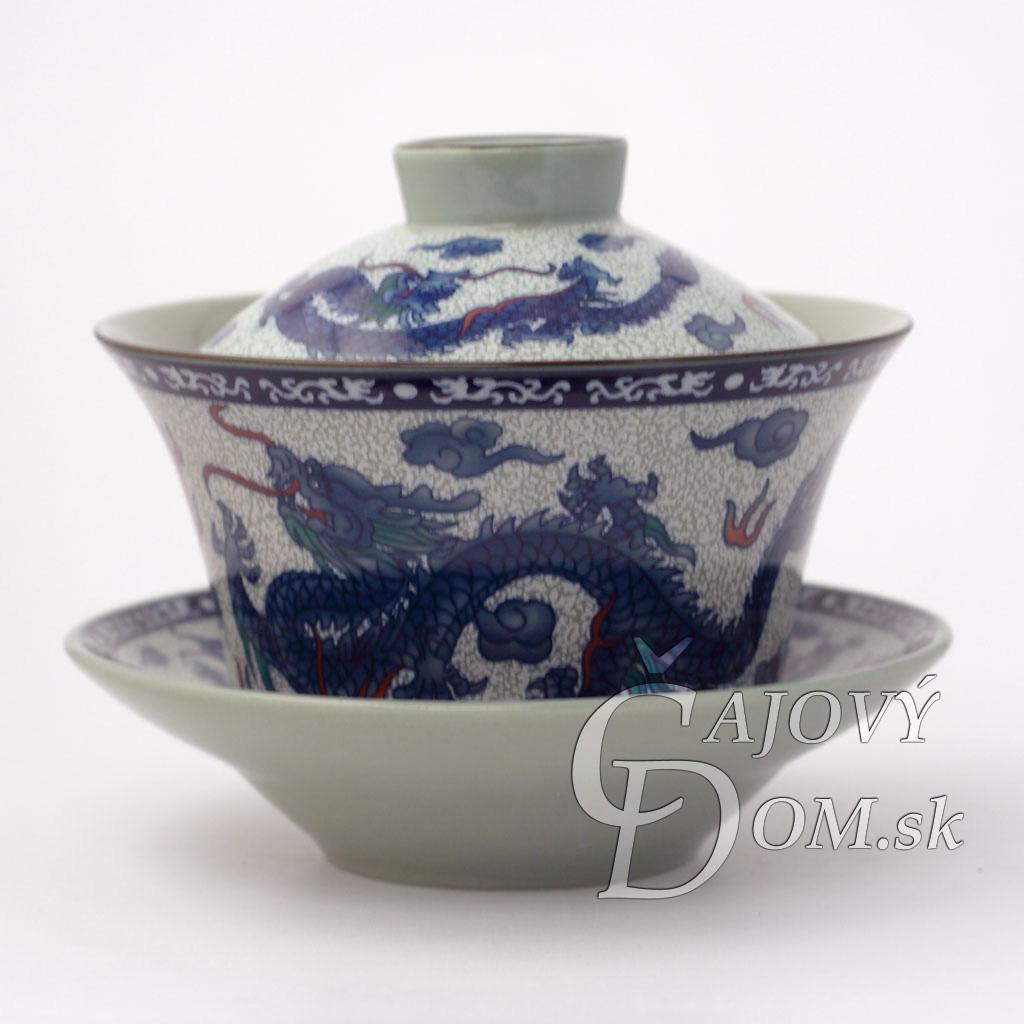 Zhong modrý - Drak a Phoenix
