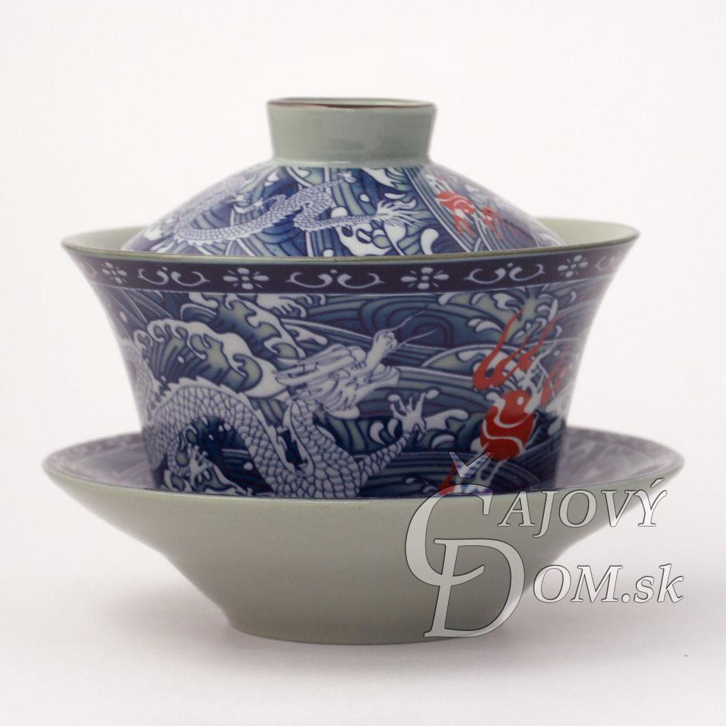 Zhong modrý - Dragon