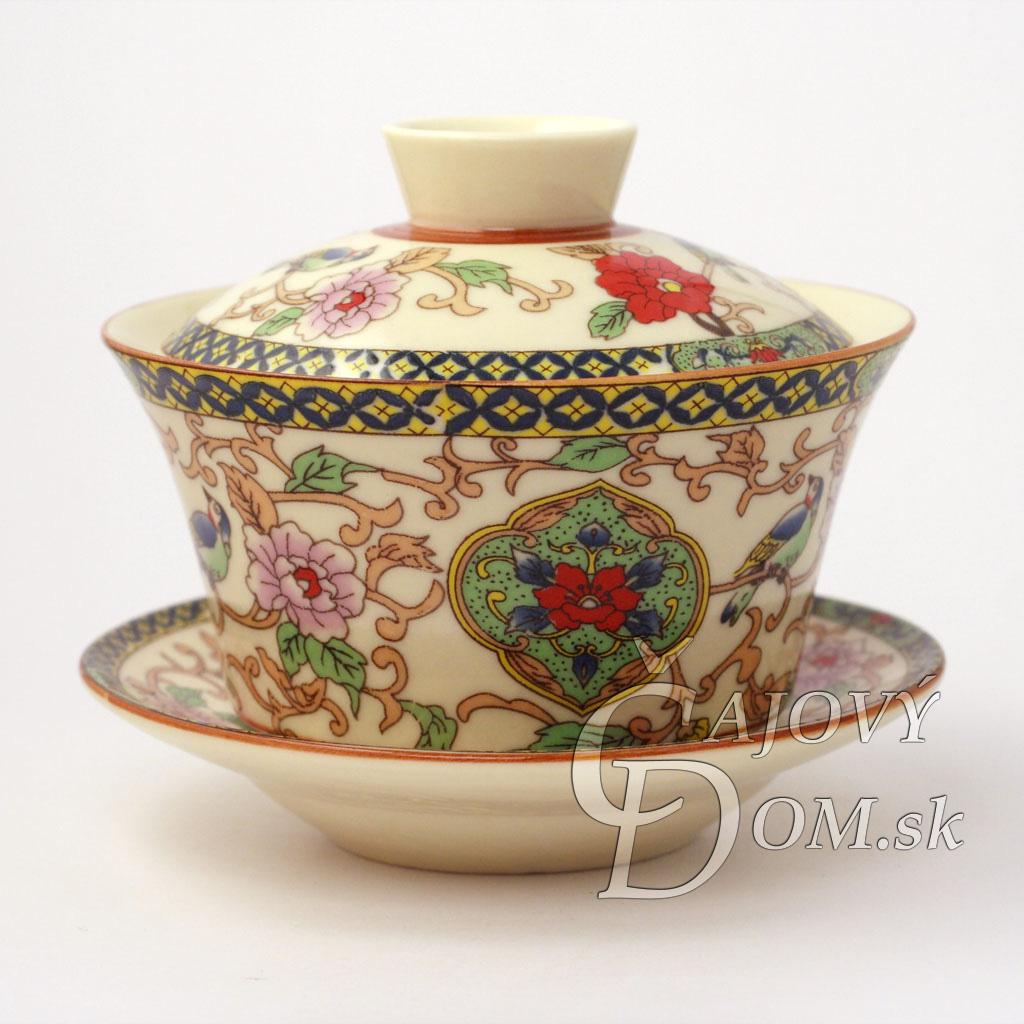 Zhong porcelánový - Žltý kvet