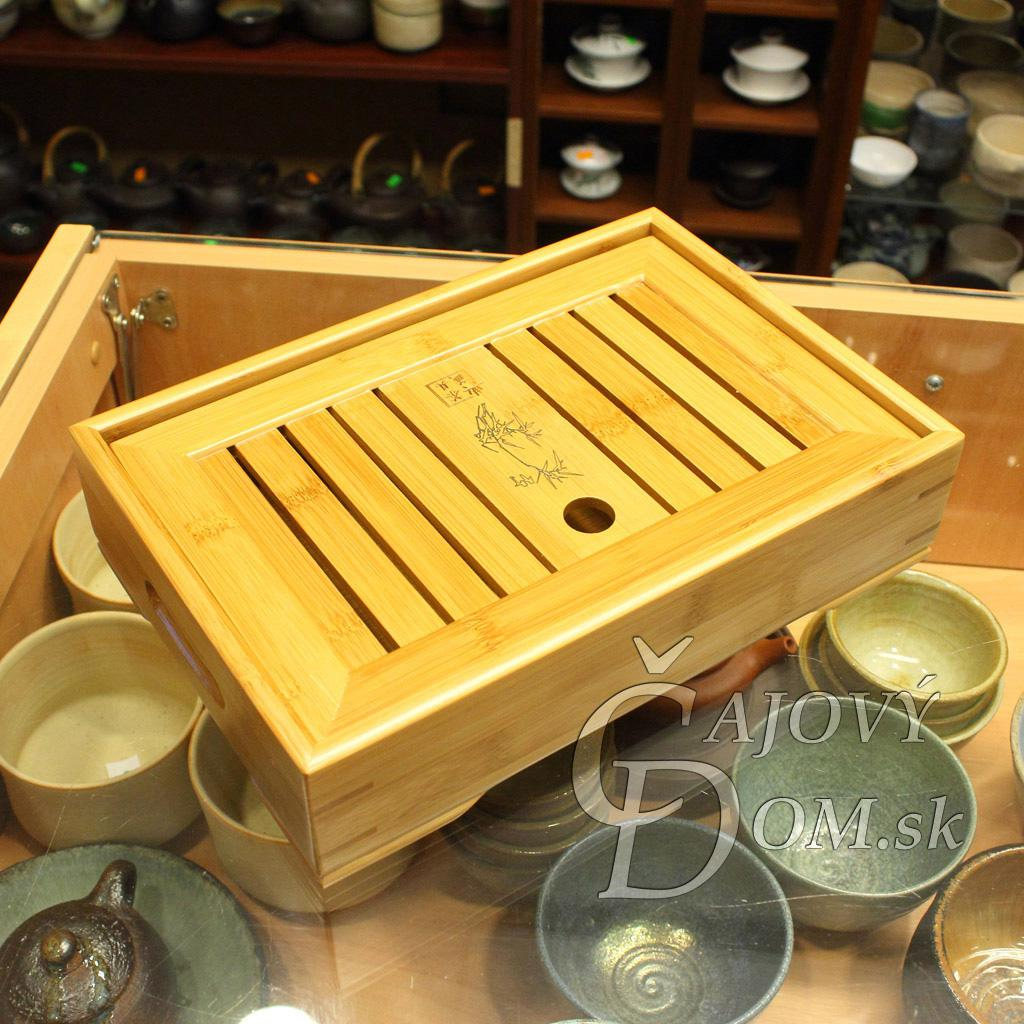 Čajové more bambusové stredné