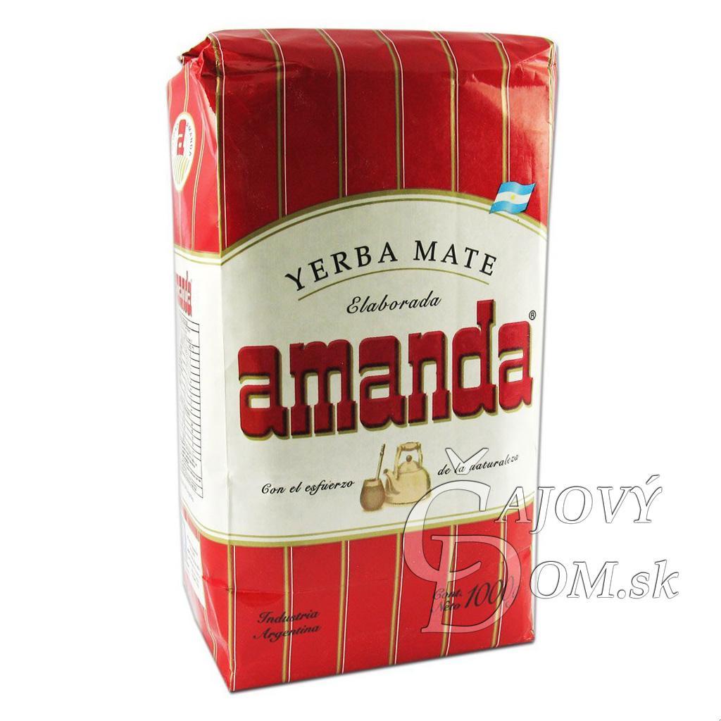 Yerba Mate - Amanda Red - Klasik - 500g