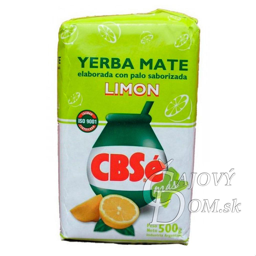 Yerba Mate - CBSe Limon - Lemon - 500g