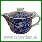 Konvička na čaj - modrá s drakom