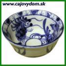 Vietnamská porcelánová miska modro-biela - 7 cm